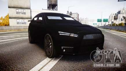 GTA V Karin Kuruma Armored satin paint para GTA 4