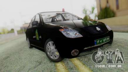 SAIPA Tiba Police v1 para GTA San Andreas