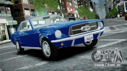 Ford Mustang 1967 para GTA 4
