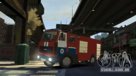 MAZ 533702 o Ministério das situações de emergência da Bielorrússia para GTA 4