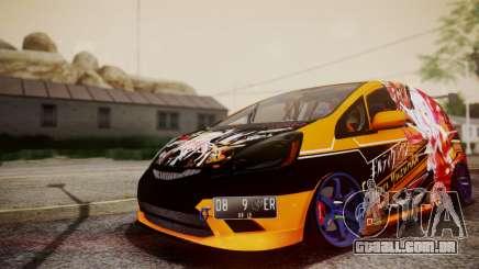 Honda Fit Street Modify Inori Yuzuriha Itasha para GTA San Andreas