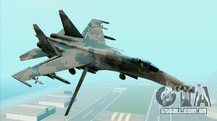 Sukhoi SU-35BM Mobius Squadron para GTA San Andreas