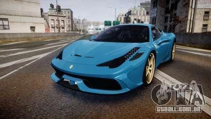 Ferrari 458 Speciale 2014 para GTA 4