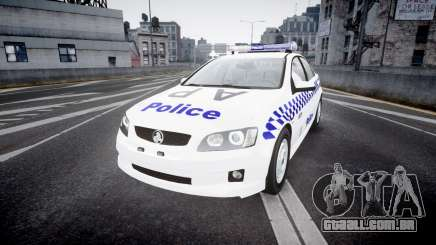 Holden Commodore Omega NSWPF [ELS] para GTA 4