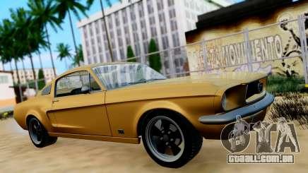 Shelby Mustang GT 1967 para GTA San Andreas