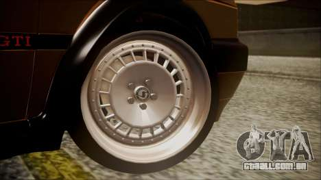 Volkswagen Golf Mk2 Schmidt TH Line para GTA San Andreas traseira esquerda vista