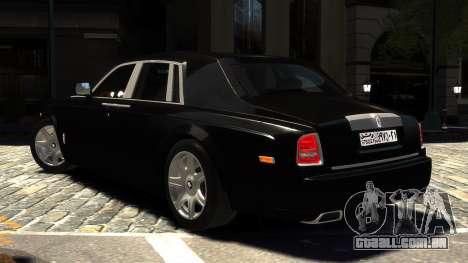 Rolls-Royce Phantom 2013 v1.0 para GTA 4 esquerda vista
