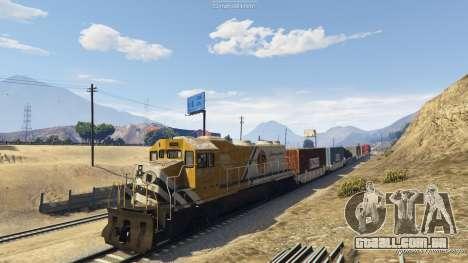 GTA 5 Railroad Engineer 3 quinta imagem de tela