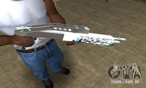 Graf Spas-12 para GTA San Andreas