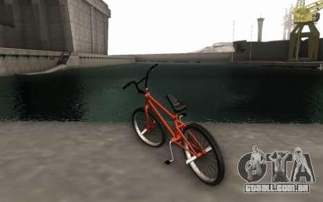 BMX HD para GTA San Andreas esquerda vista