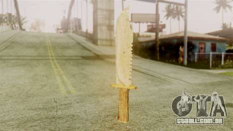 Red Dead Redemption Knife Legendary Assasin para GTA San Andreas