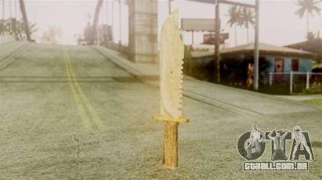 Red Dead Redemption Knife Legendary Assasin para GTA San Andreas