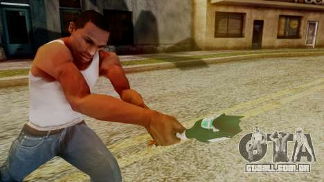 GTA 5 Broken Bottle v1 para GTA San Andreas terceira tela