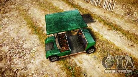 GTA V Nagasaki Caddy para GTA 4 vista direita