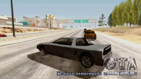 Physics from Forza Motorsport 5 para GTA San Andreas por diante tela