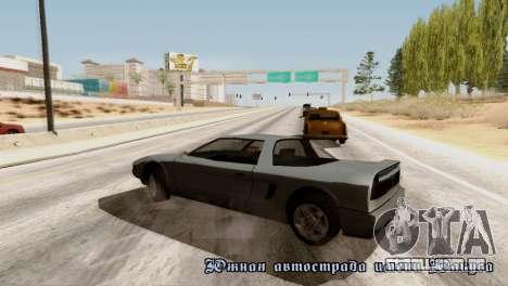 Physics from Forza Motorsport 5 para GTA San Andreas por diante tela