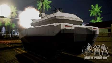 PL-01 Concept Desert para GTA San Andreas esquerda vista