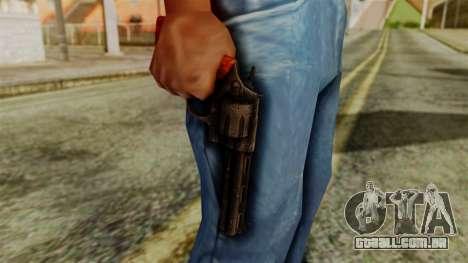 Colt Revolver from Silent Hill Downpour v2 para GTA San Andreas terceira tela