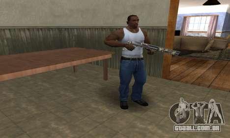 Militarry Shotgun para GTA San Andreas segunda tela