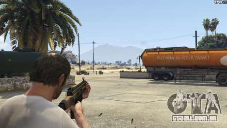 GTA 5 Battlefield 4 CZ805 terceiro screenshot