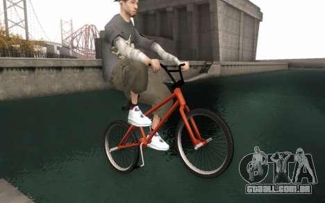 BMX HD para GTA San Andreas vista direita