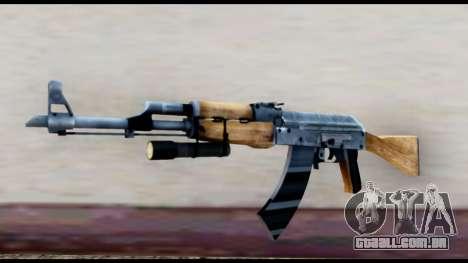 AK-47 de L4D2 para GTA San Andreas