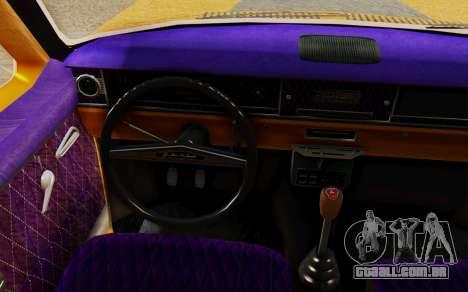 GAZ 24 Volga para GTA San Andreas traseira esquerda vista