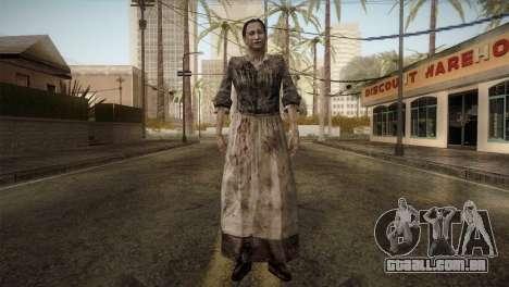RE4 Maria without Kerchief para GTA San Andreas segunda tela