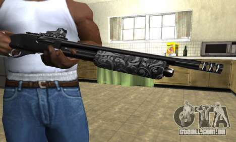 Sawn-Off Shotgun para GTA San Andreas