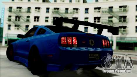 Ford Mustang GT Modification para GTA San Andreas esquerda vista