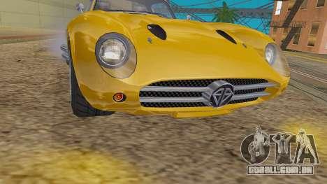 GTA 5 Benefactor Stirling IVF para GTA San Andreas vista traseira