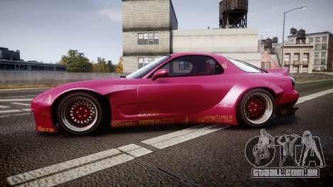 Mazda RX-7 RocketBunny [EPM] para GTA 4 esquerda vista