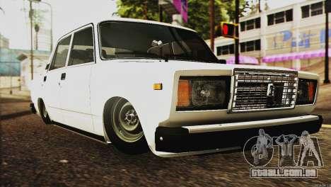 VAZ 2107 E-Design para GTA San Andreas