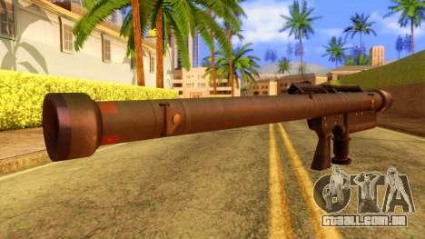 Atmosphere Stinger para GTA San Andreas segunda tela