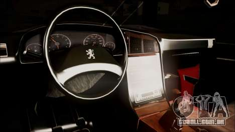 Peugeot Pars The Best Full Sport v1 para GTA San Andreas vista direita