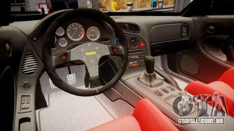 Mazda RX-7 RocketBunny [EPM] para GTA 4 vista de volta