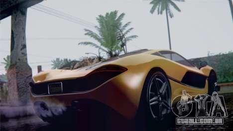 GTA 5 Progen T20 IVF para GTA San Andreas esquerda vista