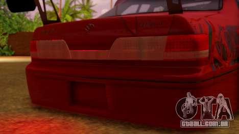 Toyota Mark 2 100 para GTA San Andreas vista interior