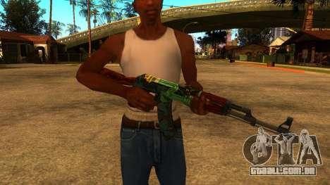 AK-47 Serpente de Fogo para GTA San Andreas