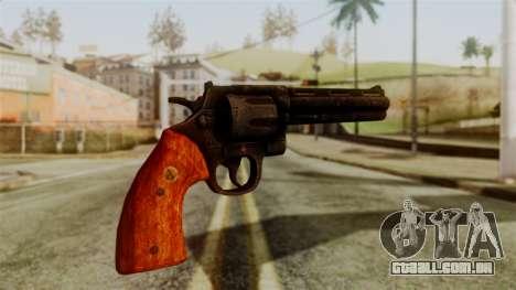 Colt Revolver from Silent Hill Downpour v2 para GTA San Andreas segunda tela