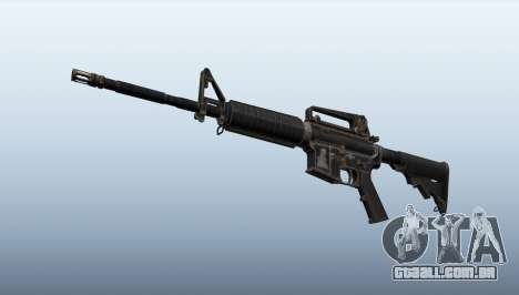 GTA 5 M4A1 terceiro screenshot