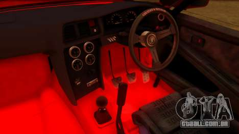 Toyota Mark 2 100 para GTA San Andreas vista direita