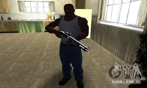 Oval Shotgun para GTA San Andreas terceira tela