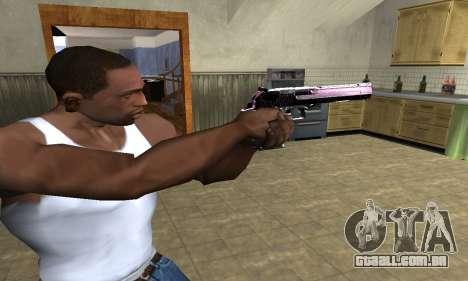Purple Deagle para GTA San Andreas segunda tela