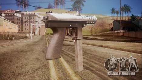 TEC-9 v1 from Battlefield Hardline para GTA San Andreas segunda tela