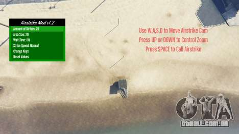 Airstrike v1.2 para GTA 5