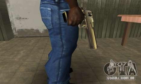 Full of Gold Deagle para GTA San Andreas segunda tela