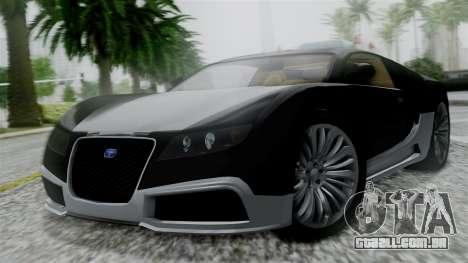 Truffade Adder Hyper Sport para GTA San Andreas