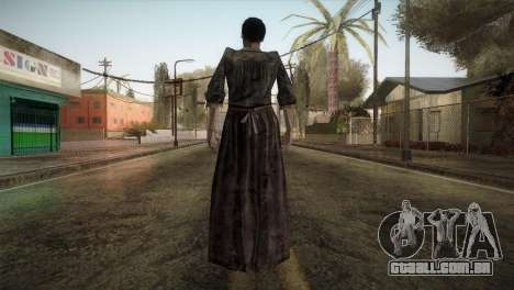 RE4 Maria without Kerchief para GTA San Andreas terceira tela