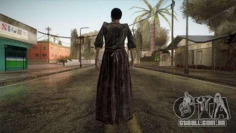 RE4 Maria without Kerchief para GTA San Andreas terceira tela